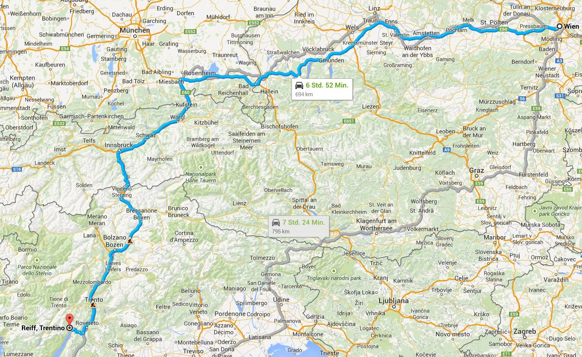 Riva del Garda Maps