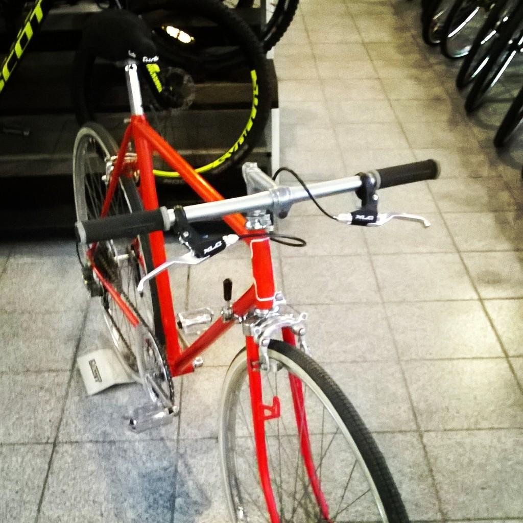 Bianchi - Stadtrad Frontasicht